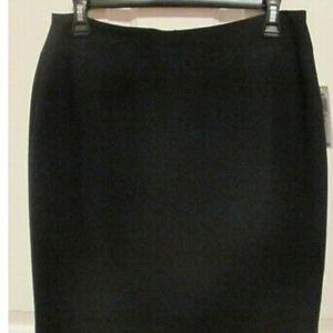 Style & Co Black Pencil Skirt